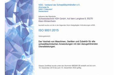Qualitätssicherung & Zertifikate